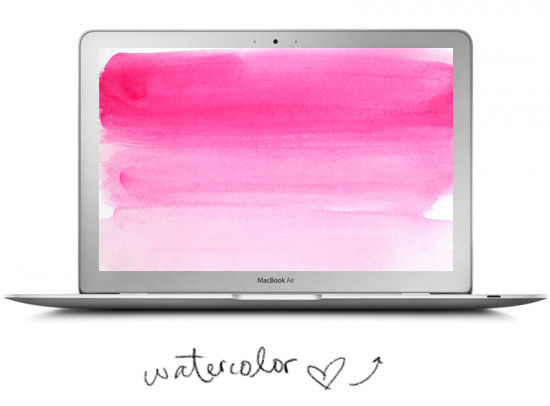 watercolor wallpaper desktop