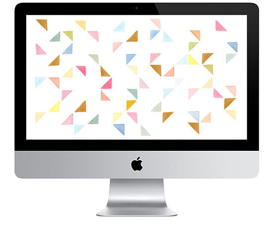 shapes wallpaper mac