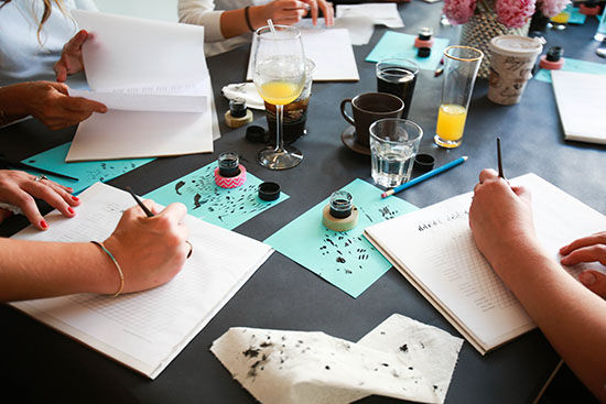 D E S I G N L O V E F E S T Calligraphy Workshops Sold