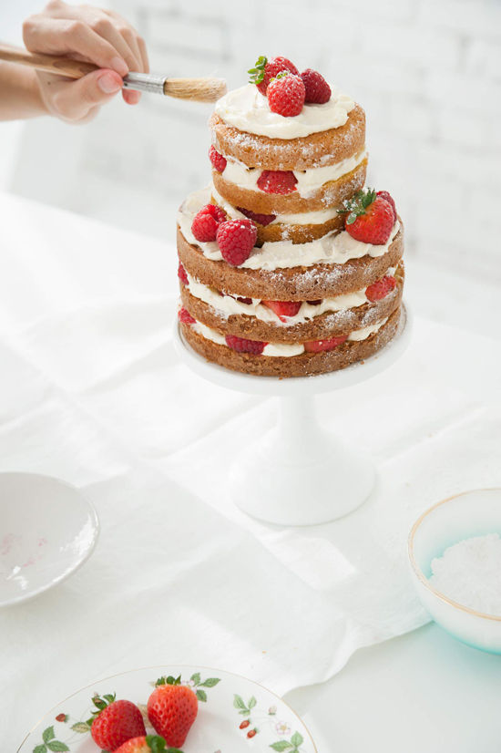 D E S I G N L O V E F E S T 187 How To Make A Naked Cake