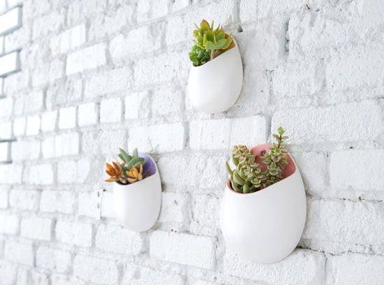 Hanging Wall Planter d e s i g n l o v e f e s t » make it/ wall planters
