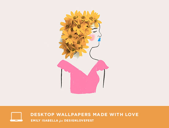 Flower Ladies Dress Your Tech | designlovefest