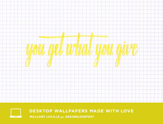 mallory lucille desktop downloads | designlovefest