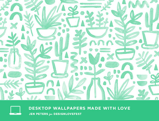 jen peters desktop downloads | designlovefest