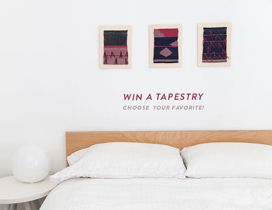 win a wall hanging! | designlovefest