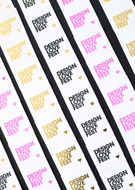 business card giveaway | designlovefest