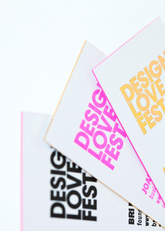 business card giveaway! | designlovefest