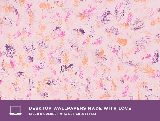birch & goldberry desktop wallpaper | designlovefest