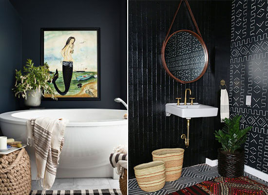 Black Bathroom d e s i g n l o v e f e s t » black bathrooms are cool