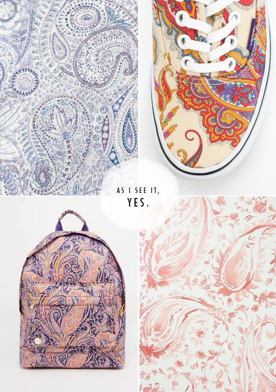 magic 8 ball predicts: paisley | designlovefest