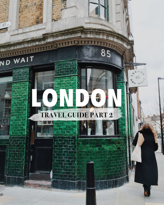 london travel guide 2 | designlovefest