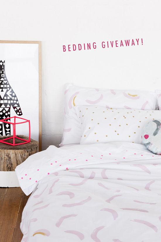 feliz bedding giveaway | designlovefest