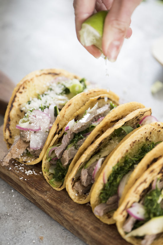 steak tacos | designlovefest
