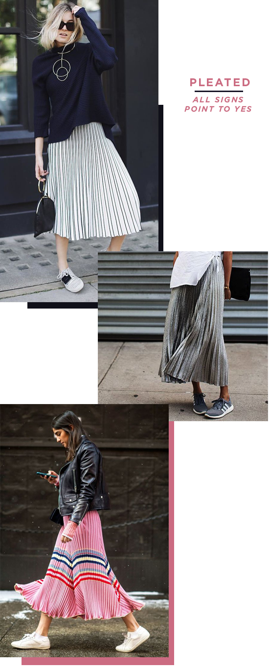 magic 8 ball | pleated fashion