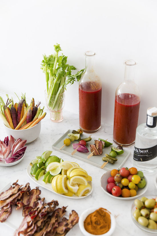 bloody mary bar | designlovefest