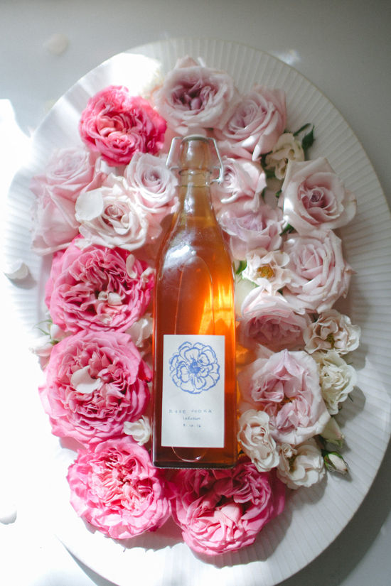 rose infused vodka | designlovefest
