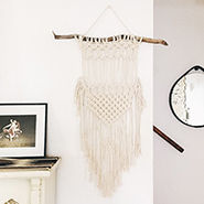 fringe wall decor | designlovefest