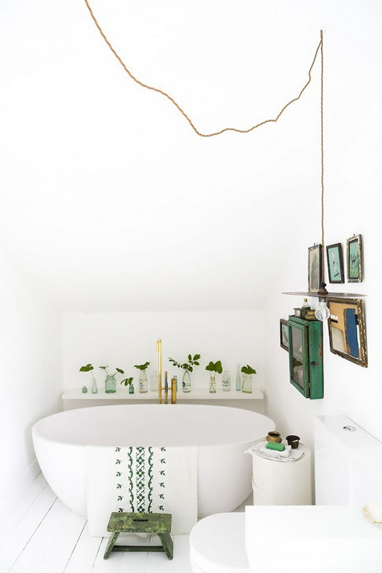 bathroom styling | designlovefest