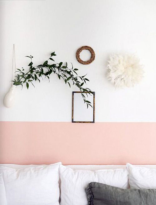 accent wall | weekend at home