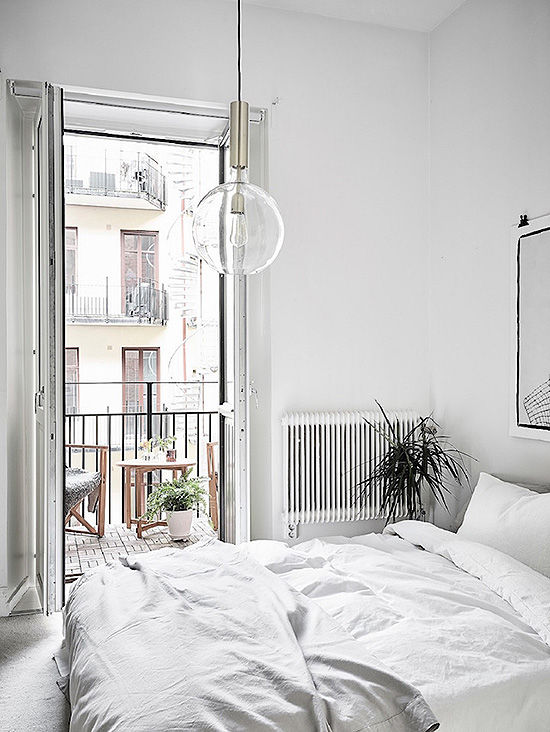 white home decor | designlovefest