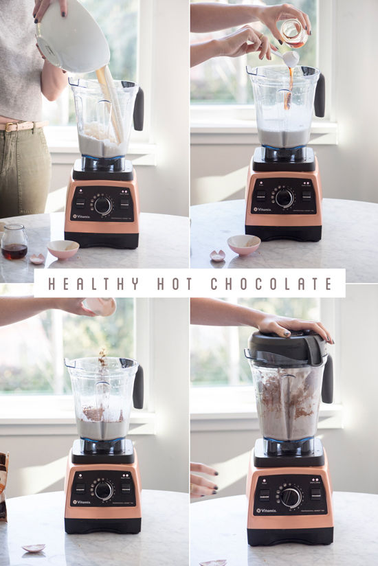 healthy hot chocolate | designlovefest