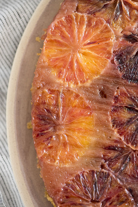blood orange cake | designlovefest