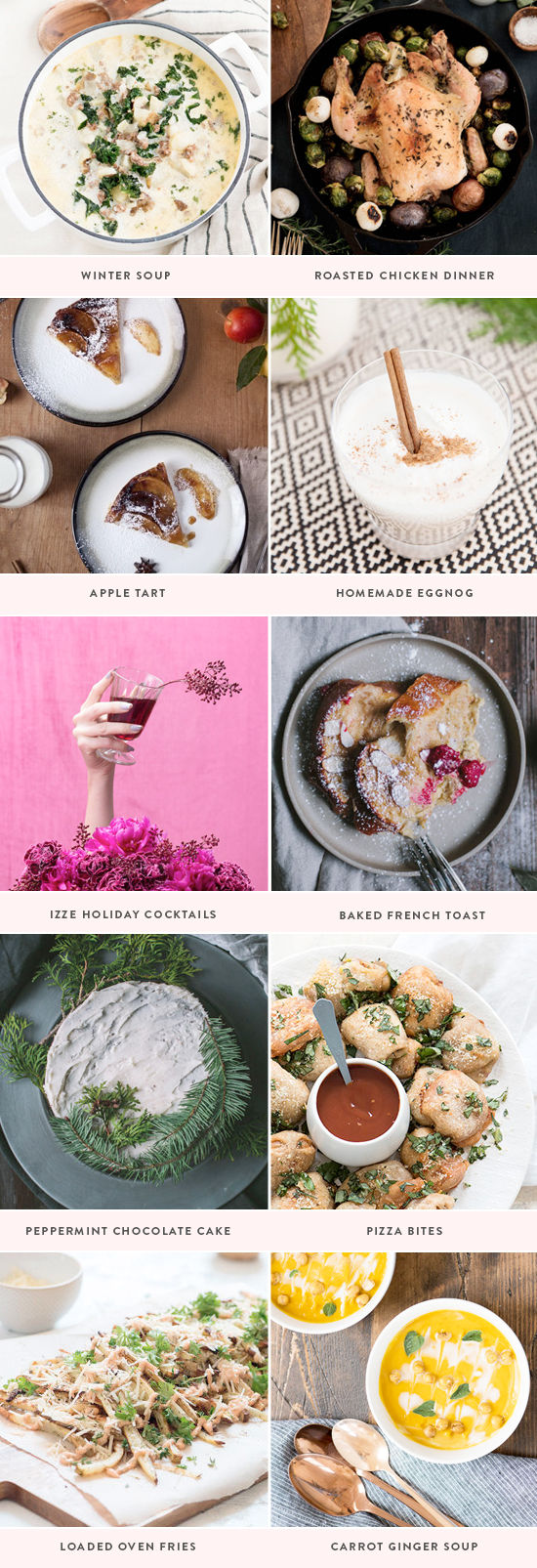 winter recipes | designlovefest