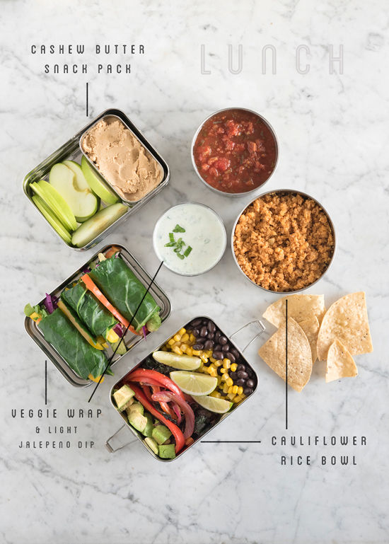 packable lunch recipes | designlovefest