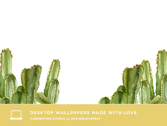 cactus desktop wallpapers | designlovefest