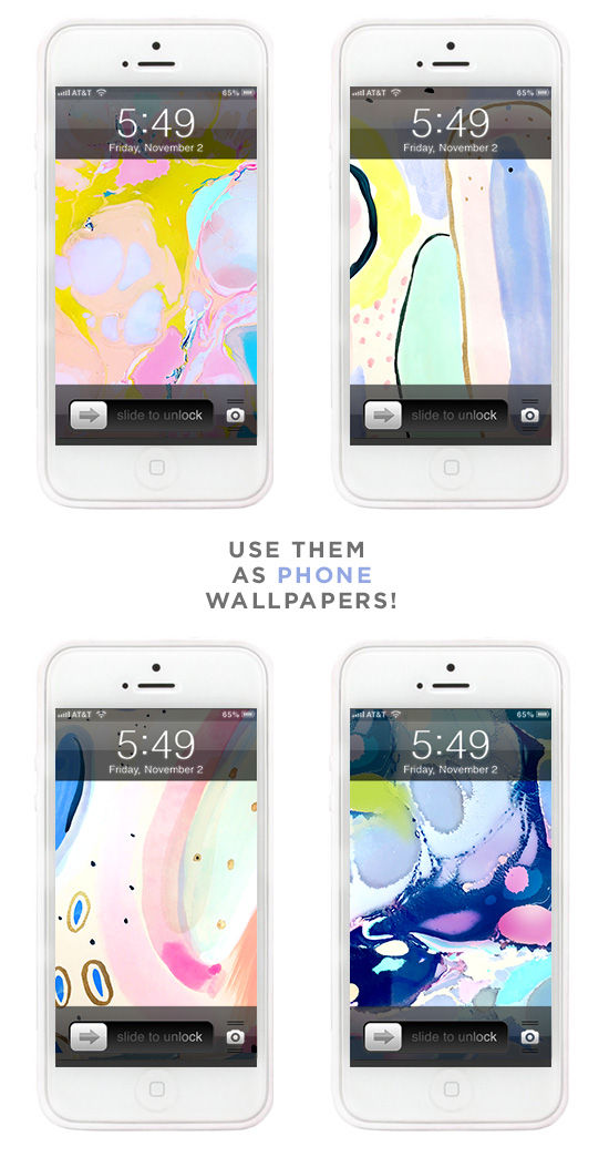 free wallpapers for your phone! | designlovefest