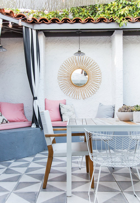 patio makeover | designlovefest + sarah sherman samuel