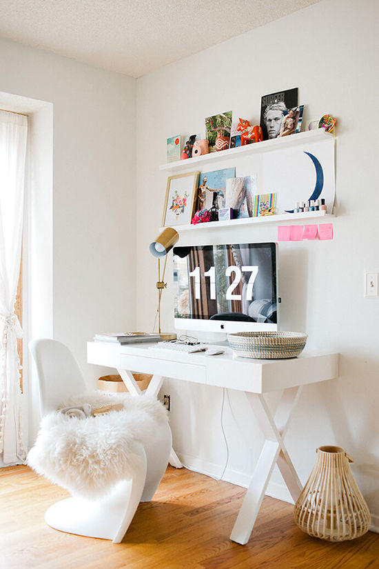 pretty desks | designlovefest
