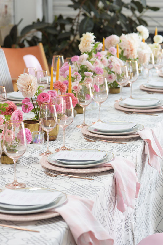 summer dinner party | designlovefest