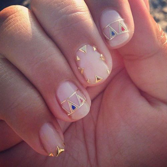 FUN NAIL ART. always inspired by manicures. - D E S I G N L O V E F E S T » FUN NAIL ART
