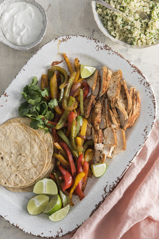 CHICKEN FAJITAS | designlovefest
