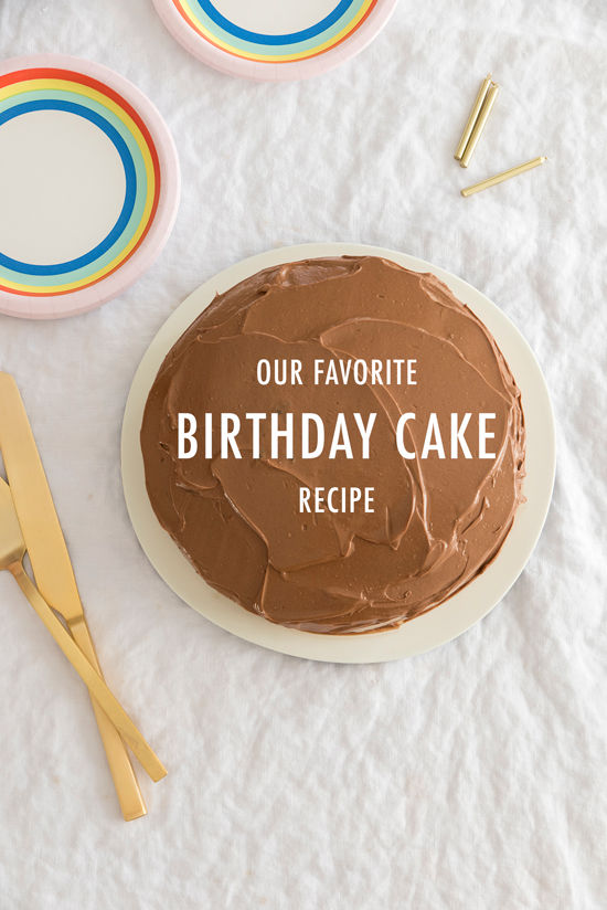 our favorite birthday cake | designlovefest