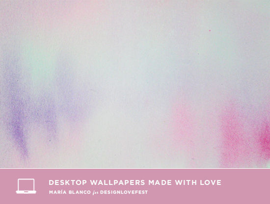 This Week Maria Blanco Made These Pretty Pastel Desktops For Us Love Watercolors There Are So Many Colors To Choose From Click Through Below