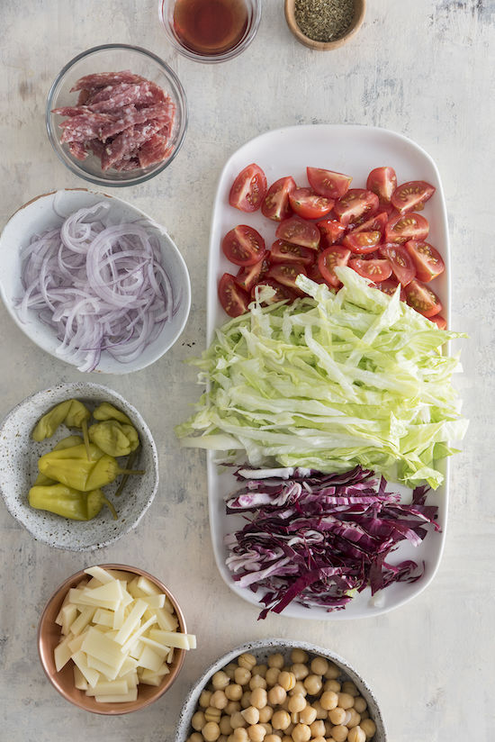 Nancy's chopped salad | designlovefest