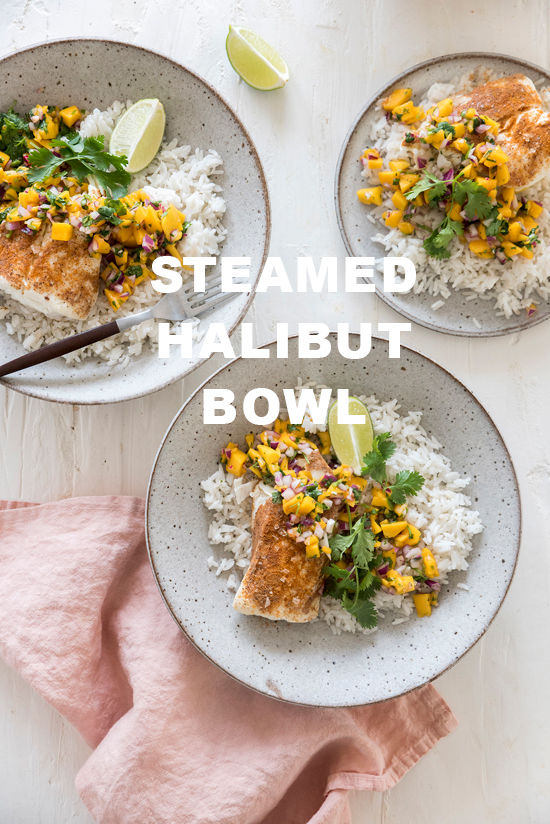 steamed halibut | designlovefest