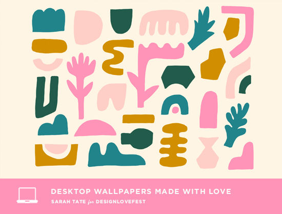 have a wonderful weekend friends i love these bright and pretty desktops from sarah tate this week download away