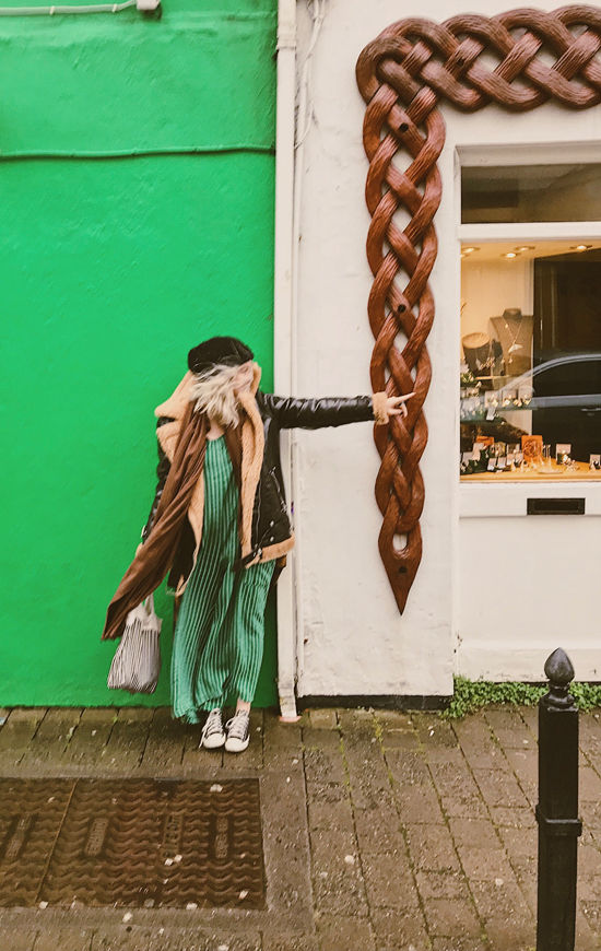 what we wore in ireland | designlovefest